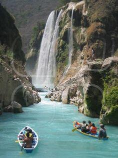 Tamul Waterfall, San Luis Potosi, Mexico.