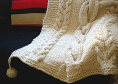 Chunky Throw - Knit Throw Blanket | Homelosophy