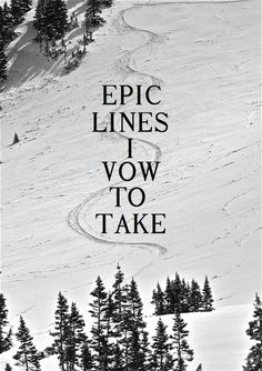 Epic of lines