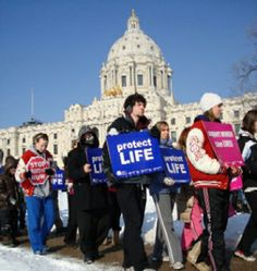 PRO LIFE RALLY @ Minnesota State Capitol in Saint Paul, sponsored by Minnesota Citizens Concerned for LIFE / MCCL.