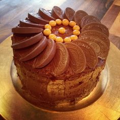 Chocolate Orange Cake from Greased and Floured.