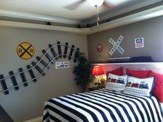 Train Bedroom Ideas | Train room | home decorating ideas