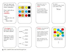 Fun in Room 4B: Probablility Foldable Freebie for Manic Monday