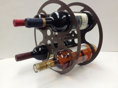 A wine rack for film lovers
