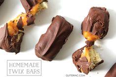 Homemade Twix Bars {