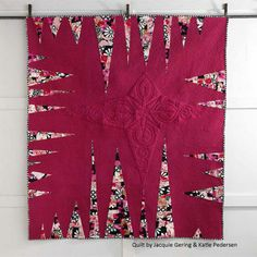 This stunning modern quilt, Me and My Arrow by Jacquie Gering and Katie Pedersen, is all about the points. Get the unique and bold design for free, plus three other free modern quilt projects.