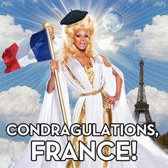 France has entered the United GAY-TIONS with #marriageequality !!