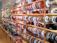 Stop at Soutache for a well-curated assortment of ribbons and trim. – The BHLDN Chicago team