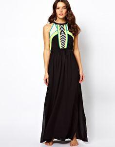 River Island Micha Maxi Beach Dress