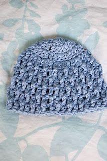 Deeply Textured Preemie Baby Hat free crochet pattern