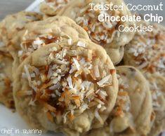 Coconut choc chip cookie