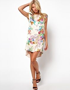 Love Dress in Floral Print
