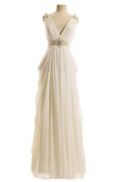 Grecian wedding dress