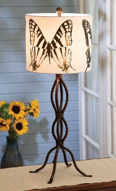 Butterfly Lamp - Acacia