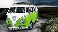 Volkswagen Bus, perfect for any road trip.