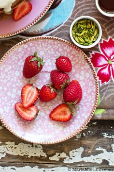 We LOVE strawberries! Do you? on FamilyFreshCooking.com © MarlaMeridith.com
