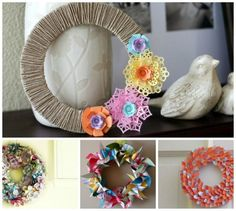 90 wreath tutorials