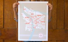 Portland Neighborhoods Map!