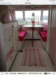 In love with vintage caravans on pinterest vintage for Small caravan interior designs