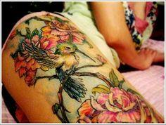 Humming bird tattoo for my MIL
