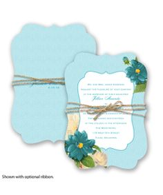 Floral Serenade Wedding Invitation by David's Bridal