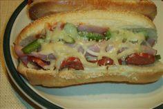Oven Pizza Sub Sandwiches