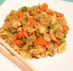 Cauliflower Fried Rice  paleocupboard.com