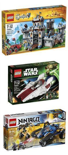 Lego Deals on Amazon - Labor Day Weekend.  Castle, Ninjago, City!  #affiliate