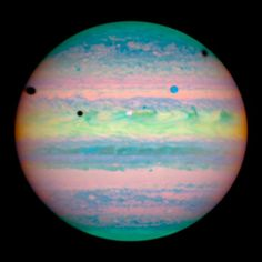 Triple Jupiter Eclipse by NASA on The Commons, via Flickr