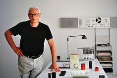 Dieter Rams is a German industrial designer closely associated with the consumer products company Braun and the Functionalist school of industrial design. Dieter Rams is also very well known for his Ten Principles for Good Design.