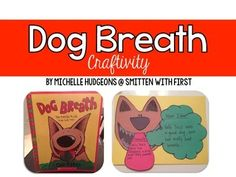 This adorable and funny book, Dog Breath, written by Dav Pilkey is perfect for teaching main idea, problem/solution, and even good hygiene!! re-pinned by www.thedabblingspeechie.com