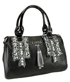 Nicole Lee Swiss Dot Doctor's Bag