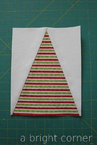 Adorable Elf Hat Quilt Block.  Just too cute for words!!