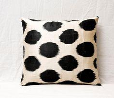 Handmade Ikat Pillow