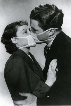 mask kissing