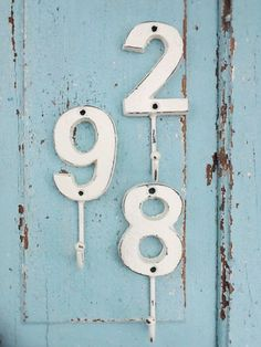 20 Fun Ways to Decorate with Numbers