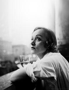 Marlene Dietrich by Milton Greene, New York, 1952.