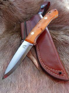 """Woodlander 4"""" - Handmade Bushcraft Knives and Woodcraft Knives"""