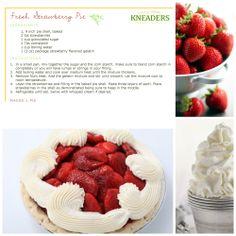 Kneaders Fresh Strawberry Pie. #Kneaders
