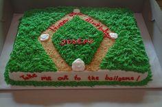 baseball birthday cakes for kids | Baseball Birthday Cake — Children's Birthday Cakes