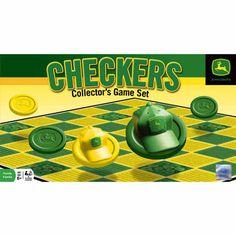 John Deere Checkers Board Game