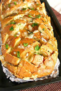 Stuffed Cheesy Bread - Click for Recipe