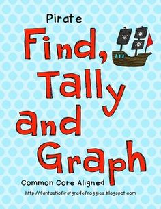 Find, Tally and Graph- Pirates
