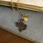 Peace, Love, and Texas Necklace  - Ornamental Things