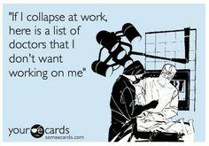 Lol. Nursing