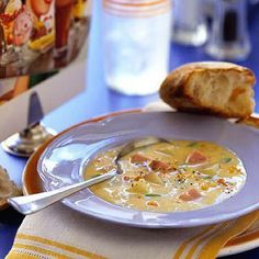 Midwest Ham Chowder: Perfect for leftover ham!