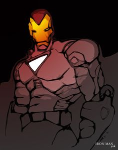 Iron Man by Yak