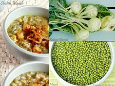 Turmeric and Saffron: Sholeh Maash - Persian Green Mung Bean and Kohlrabi Hearty Soup