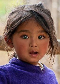 Adorable child.