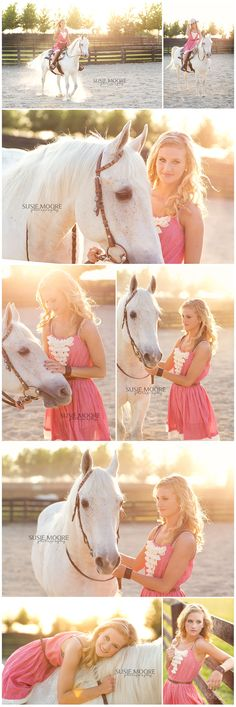 senior and her horse